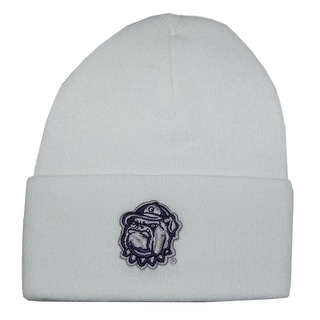 Georgia Bulldogs Cuff Beanie - White