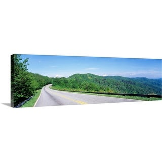 """Great Smoky Mountain National Park TN"" Canvas Wall Art"