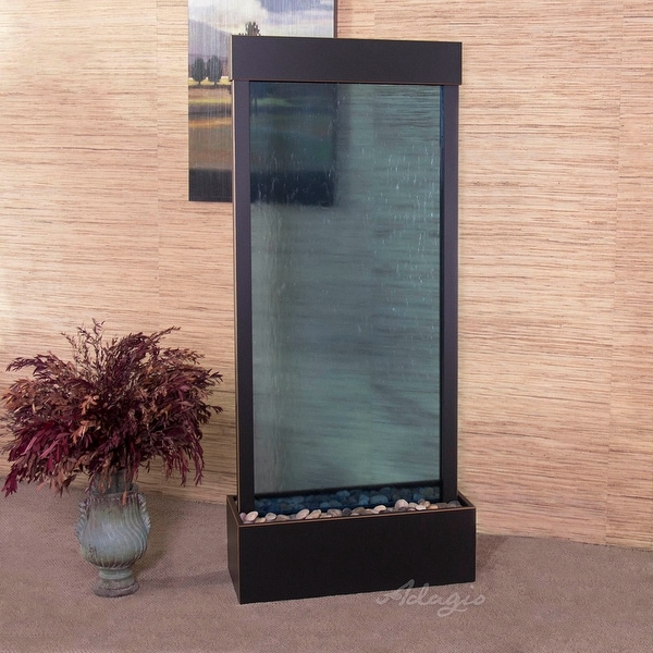 Adagio Harmony River Fountain - Center Mount - Blackened Copper - Choose Options