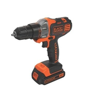 Black & Decker Bdcdmt120c 20V Max Lithium-Ion Cordless Matrix Drill/Driver With Battery 1.5Ah And Charger