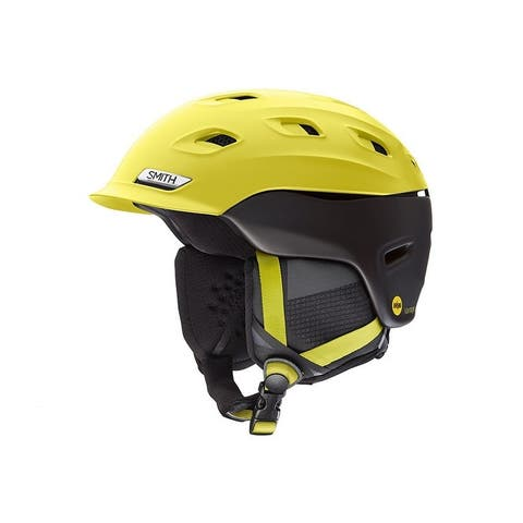 Smith Optics Vantage MIPS Snow Helmet (Matte Citron-Black/ Medium) - Yellow