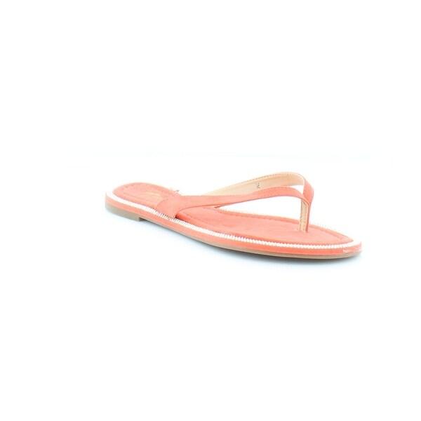 Thalia Sodi Beda Women's Sandals & Flip Flops Coral