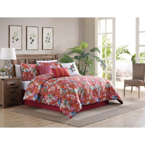 Riverbrook Home Fiesta 7 Piece 100 Percent Cotton Comforter Set