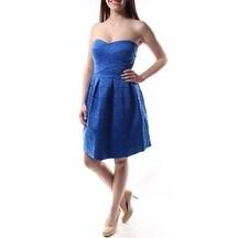 $105 B DARLIN New Womens 1373 Blue Sleeveless Dress Juniors 3 B+B