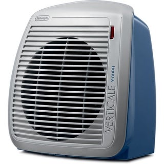 DeLonghi HVY1030BL 1500-Watt Fan Heater - Blue - gray/blue