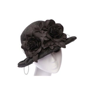 Womens Floral Bow Bucket Hat