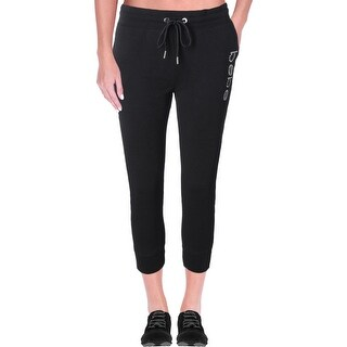 Bebe Womens Capri Pants Jogger Rhinestone (3 options available)
