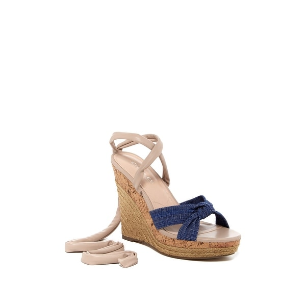 Charles by Charles David Womens aaron Closed Toe Casual Platform Sandals - 9.5