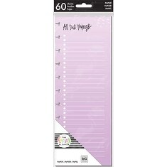 All The Things - Happy Planner Big Half Sheet Fill Paper 60/Pkg