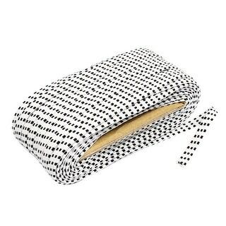 Shop White 20m Long 8mm Width Shrink Resistant Braided Elastic