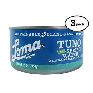Loma Linda Tuno - Plant-Based - Spring Water (12 oz.) (Pack of 3)