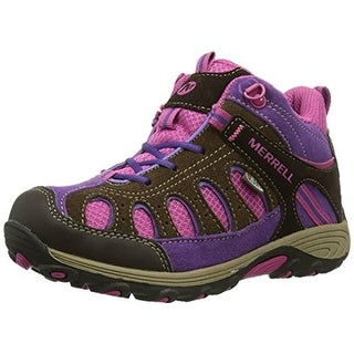 Merrell Girls Suede Hiking, Trail Shoes - 2.5