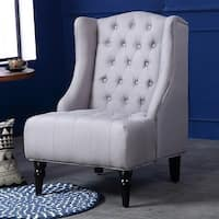 Madison Velvet Wing Chair Free Shipping Today