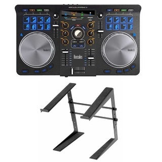 Hercules Universal DJ Controller with Laptop Stand