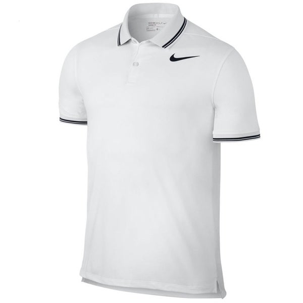 56b0e8b28530 Shop Nike NEW White Mens Size Large L Modern Fit Golo Polo Shirts   Tops - Free  Shipping Today - Overstock - 20833573