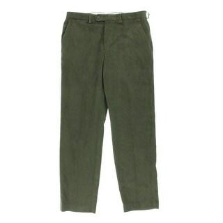 Ralph Lauren Mens Cotton Flat Front Corduroy Pants