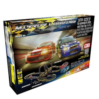 Link to Big Racer Road Racing Slot Car Set Set - Electric Powered Similar Items in Toy Vehicles