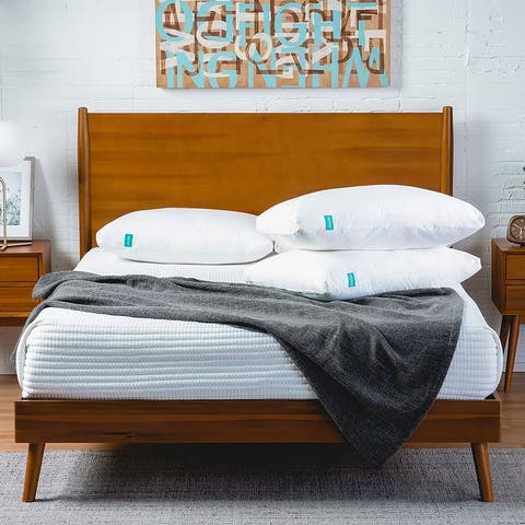OkiOki Mattress and Mid-Century Bed Bundle