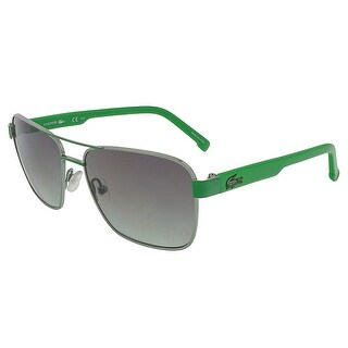 Lacoste L3105S 315 Light Green/Green Aviator Sunglasses - light green/green - 52-15-125