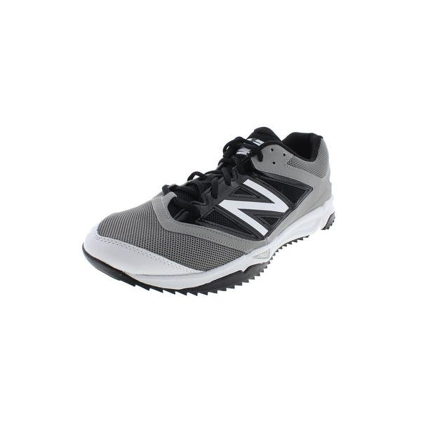 6ea98b2e Shop New Balance Mens T4040v3 Baseball Shoes Mesh Lace-Up - 13 ...