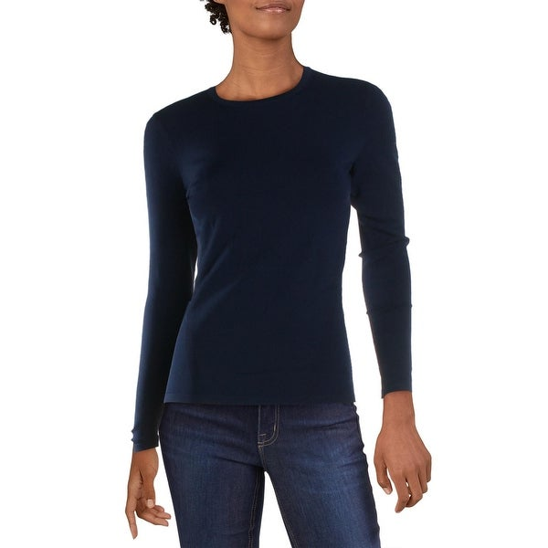 Diane Von Furstenberg Jess Women's Milano Long Sleeve Crew Neck Sweater. Opens flyout.
