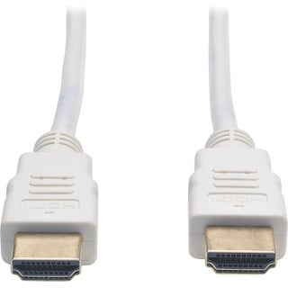 Tripp Lite P568-003-WH Tripp Lite High Speed HDMI Cable Ultra HD 4K x 2K Digital Video with Audio (M/M) White 3ft - HDMI for