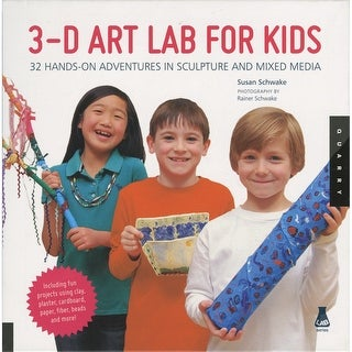 Walter Foster Creative Books-3D Art Lab For Kids