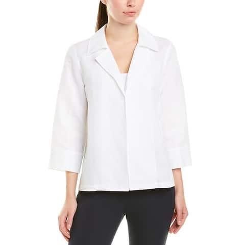 Lafayette 148 New York Tate Linen-Blend Jacket