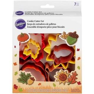 Autumn - Metal Cookie Cutter Set 7Pcs