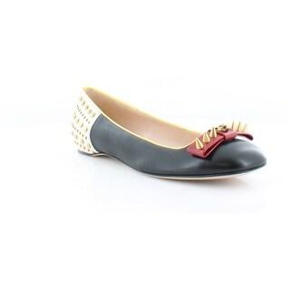 Gucci Lexi Ballet Flat Women's Flats & Oxfords Nero /H.Red / Oro