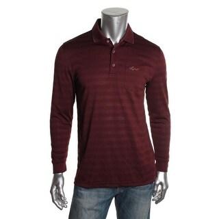 Greg Norman Mens Moisture Wicking Stretch Polo Shirt - L