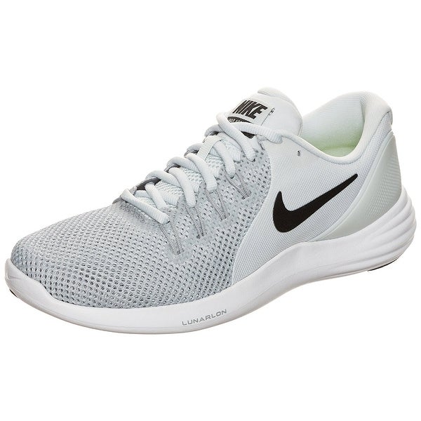 8b71bbeaddff Shop Women s Nike Lunar Apparent Running Shoe Pure Platinum  Black-Wolf Grey  11 - black-wolf grey - Free Shipping Today - Overstock - 18281332