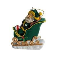 Green Bay Packers Santa's Sleigh Ornament