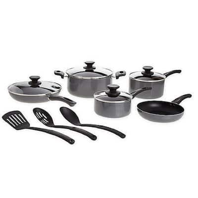 Simply Essential Nonstick Aluminum 12-Piece Cookware Set