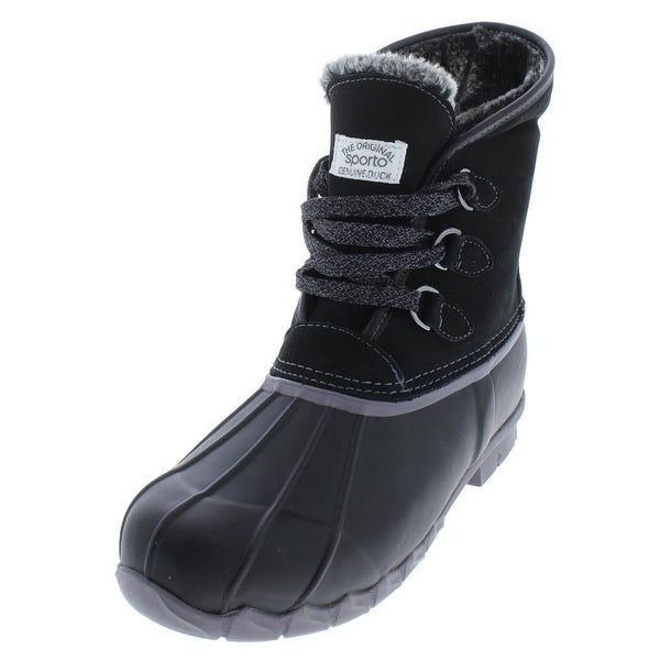 75ac0b3c30f Shop Sporto Womens Defrost Pac Boots Suede Waterproof - Free ...