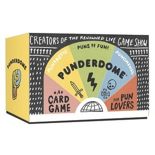 Punderdome: A Card Game for Pun Lovers - mulicoloured