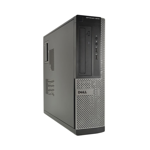 Dell OptiPlex 3010-D Core i5-3570 3.4GHz 3rd Gen CPU 8GB RAM 500GB HDD Windows 10 Pro PC (Refurbished)
