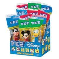 PEZ Disney Mickey Assorted 12 ea