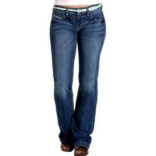 Cruel Girl Western Denim Jeans Womens Jayley Trouser Med