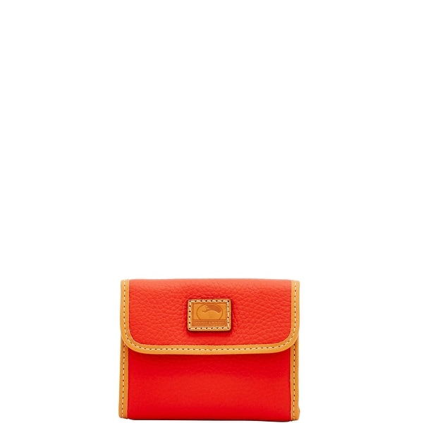 Dooney & Bourke Patterson Leather Small Flap Credit Card Wallet (Introduced by Dooney & Bourke at $98 in Dec 2017)
