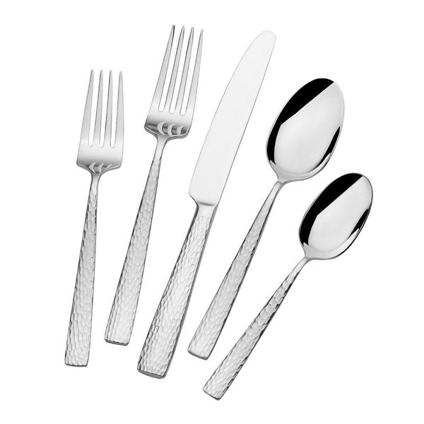 Mikasa Oliver Gleam 18.10 65 Pc Flatware Set. Opens flyout.