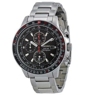 Link to Seiko Men's SSC349 'Prospex' Chronograph Stainless Steel Watch Similar Items in Men's Watches