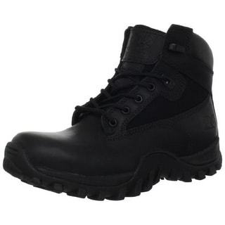 "Timberland Mens 6"" Valor Mcclellan Leather Waterproof Work Boots"