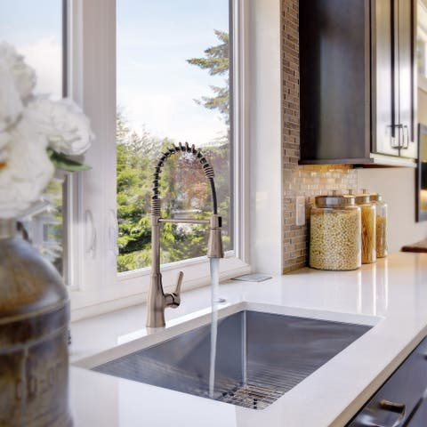 Bora Bora Collection. Pull-Down kitchen faucet. By Lulani