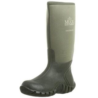 Muck Boot Womens Edgewater Rubber Waterproof Rain Boots - 4 medium (b,m)