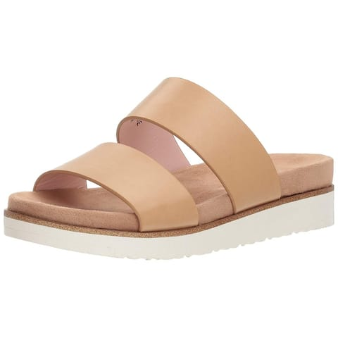 Xoxo Womens Dylan Open Toe Casual Slide Sandals