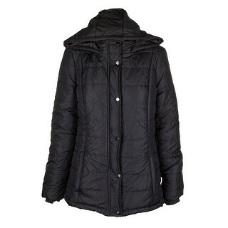 Rampage Juniors Charcoal Hooded Puffer Coat XL