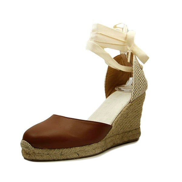 d2a19f93b2a Shop Soludos Tall Wedge Open Toe Leather Wedge Heel - Free Shipping ...