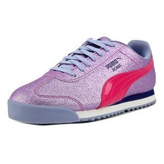 Puma Roma Glitz Glamm JR   Round Toe Synthetic  Sneakers