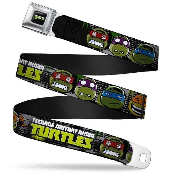New Series Teenage Mutant Ninja Turtles Logo Full Color New Series Turtles Seatbelt Belt